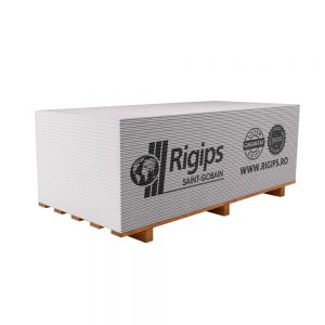 Placa gips carton tip A Rigips RB 9.5 12.5 x 1200 x 2600 mm