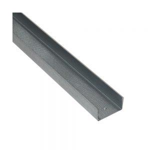 Profil gips carton Rigiprofil UW 75 are 0.6mm grosime, 4000 mm lungime si 75 mm latime