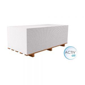 Placa gips carton tip A purificare aer Rigips Activ'Air® 12.5 x 1200 x 2000 mm