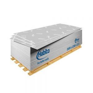 Placa gips carton rezistenta la impact Habito 12.5 x 1200 x 2600 mm
